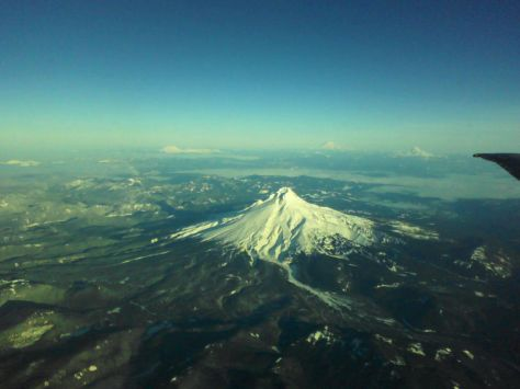 Mt Hood, Mt St Helens, Mt Rainier, Mt Adams