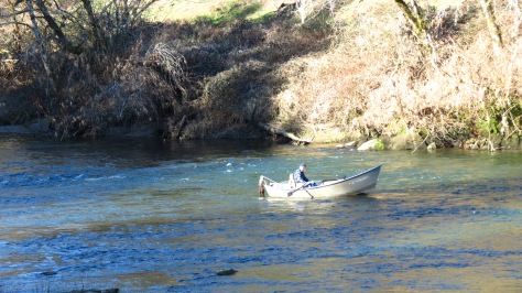 Drift Fishing the Alsea River