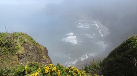 Heceta Head Lighthouse - Fog