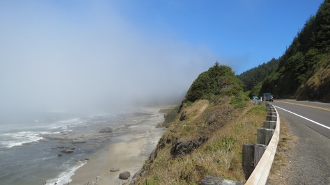 Bray's Point on Hwy 101 - Overlooking Bob Creek Wayside