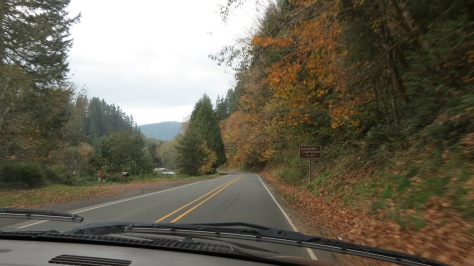 Alsea highway 34 from Philomath to Waldport