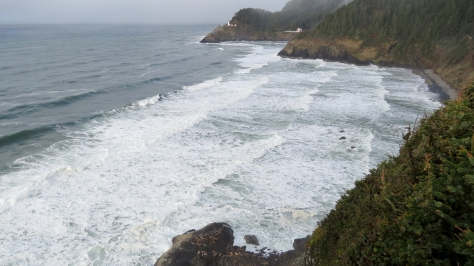 Heceta Lighthouse Overlook near Sea Lion Caves