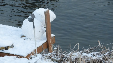 Alsea River Snowman