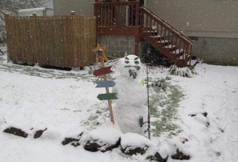 Snow-Fisherman