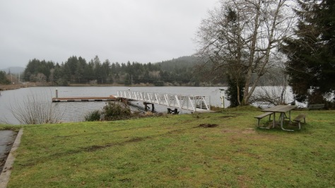 Nelson State Park - new dock