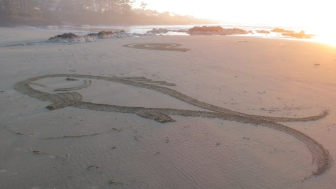 Sand Art - Fish