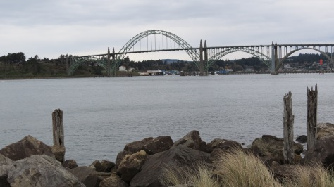 Yaquina Bridge from South Jetty