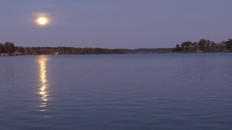 Moon Rise over Houston County Lake